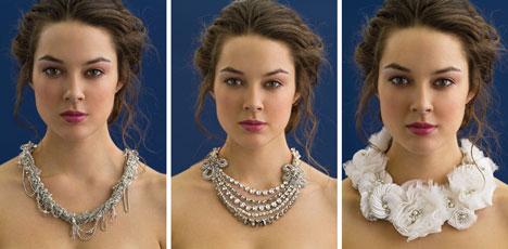 Bridal accessories by Rita Vinieris (Rivini)